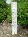 Hex Sign Garden Art Peacce Pole