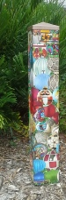 Garden Art Peace Pole - Ornamentts 015